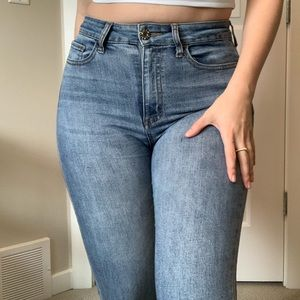 Guess High-Waisted Skinny Jeans